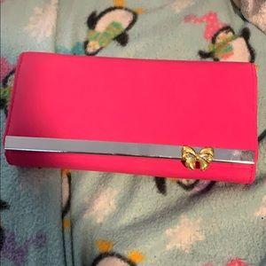 Handbags - Hot pink wallet